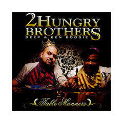 2 Hungry Bros - 'Table Manners' [CD]