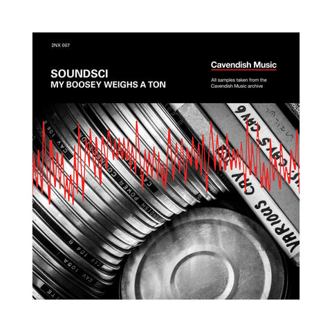 Soundsci - 'My Boosey Weighs A Ton' [(Black) Vinyl LP]