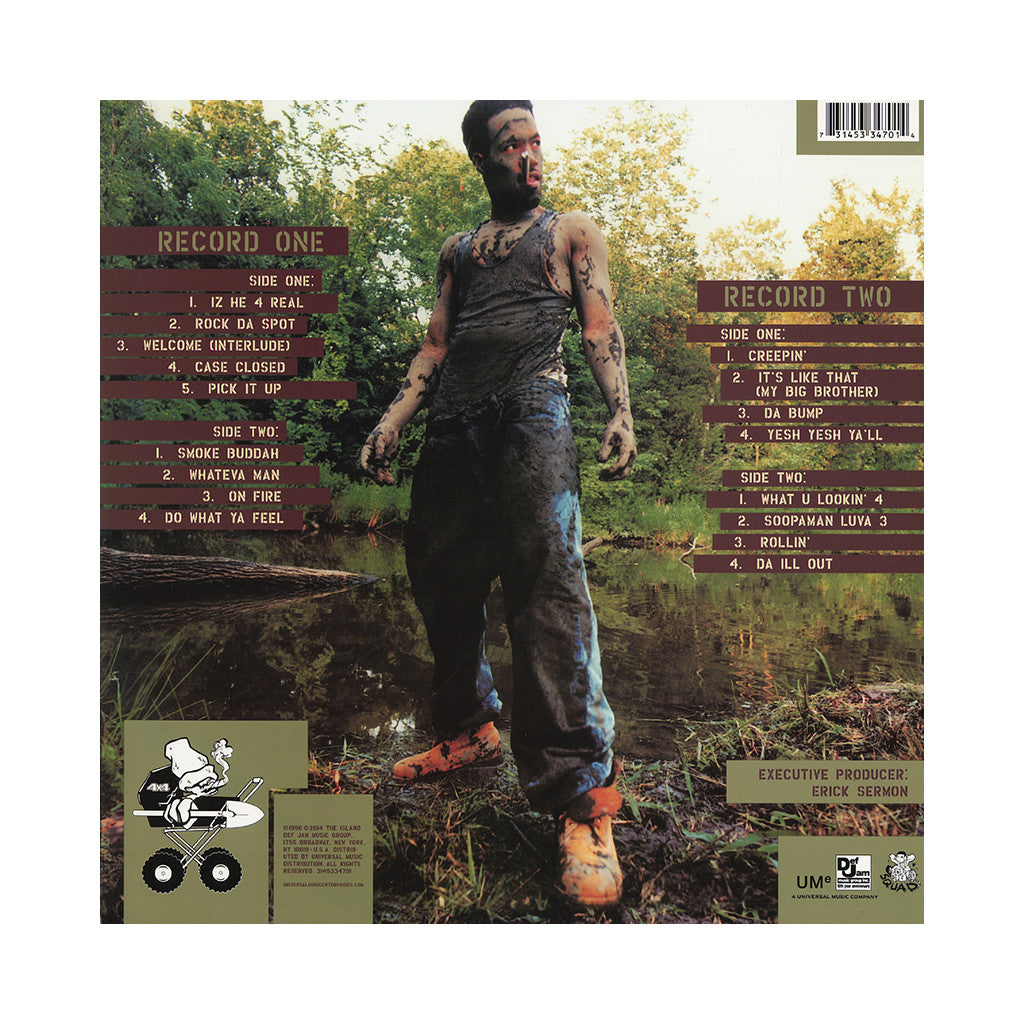 Redman - 'Muddy Waters' [(Black) Vinyl [2LP]]