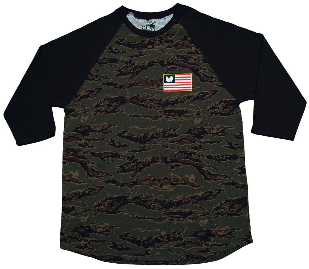 <!--2013042309-->Wu-Tang Brand LTD - 'Iron Flag - Tigerstripe' [(Camo Pattern) T-Shirt]