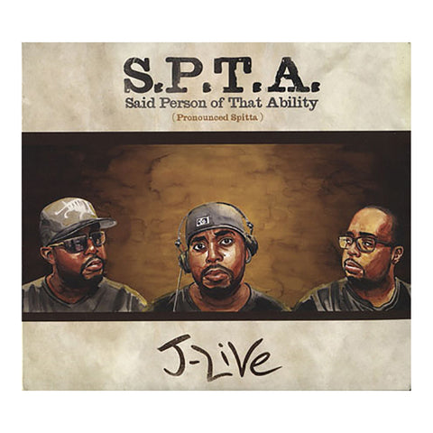 J-Live - 'S.P.T.A. (Said Person Of That Ability)' [CD [2CD]]
