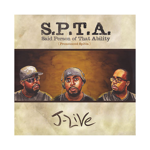 J-Live - 'S.P.T.A. (Said Person Of That Ability)' [(Yellow) Vinyl [2LP]]