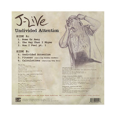 <!--020101109025317-->J-Live - 'Undivided Attention' [(Black) Vinyl EP]