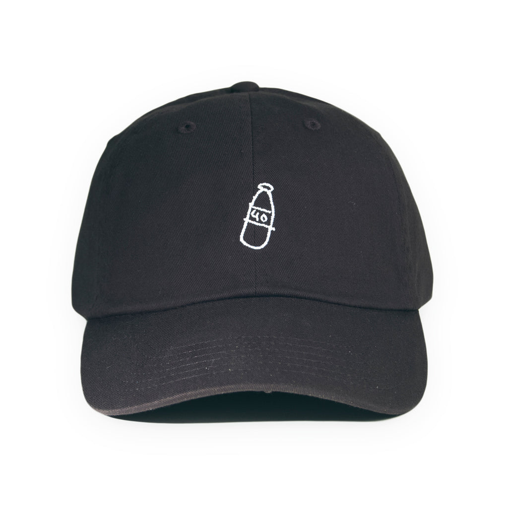 <!--020160517073185-->40s & Shorties - 'Scribble Bottle' [(Black) Strap Back Hat]