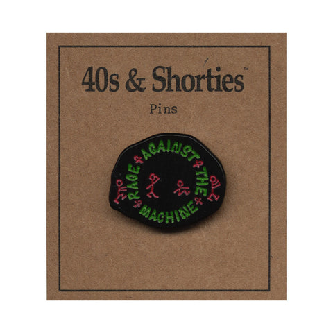 40s & Shorties - 'Rage' [(Multi-Color) Pin]