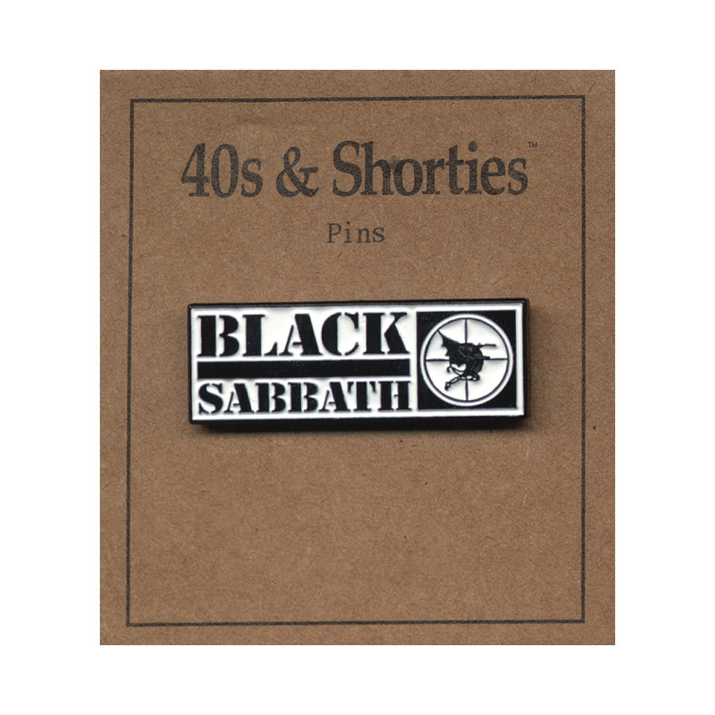 <!--020160606073311-->40s & Shorties - 'Sabbath' [(Multi-Color) Pin]