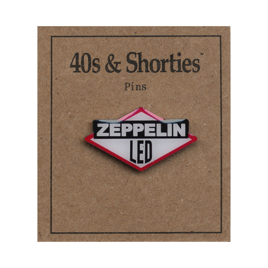 <!--020160606073310-->40s & Shorties - 'Zeppelin' [(Multi-Color) Pin]
