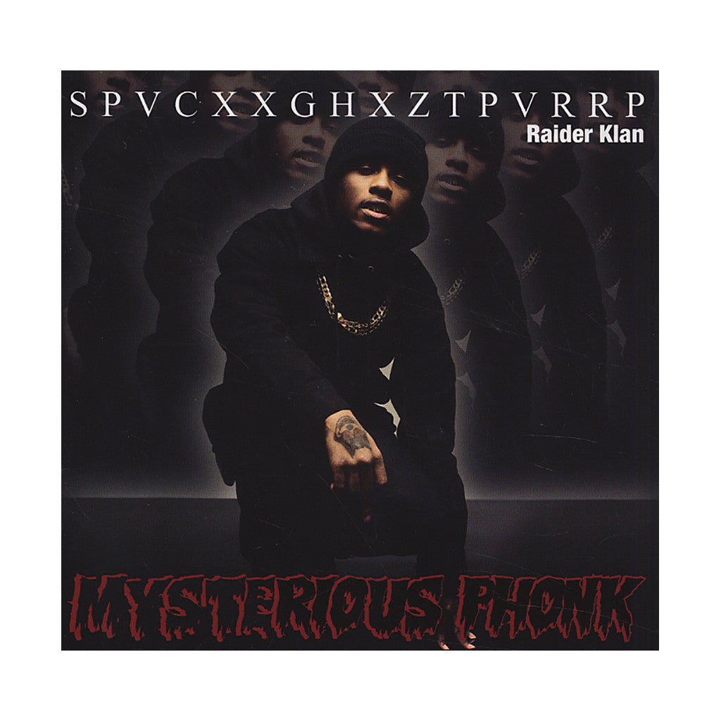 <!--120120612044426-->SpaceGhostPurrp - 'Mysterious Phonk: The Chronicles Of SpaceGhostPurrp' [CD]