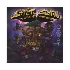 <!--020120925048466-->Skratchy Seal - 'Super Seal In The 4th Dimension' [(Black) Vinyl [2LP]]
