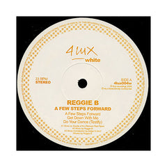 Reggie B. - 'A Few Steps Forward' [(Black) Vinyl EP]