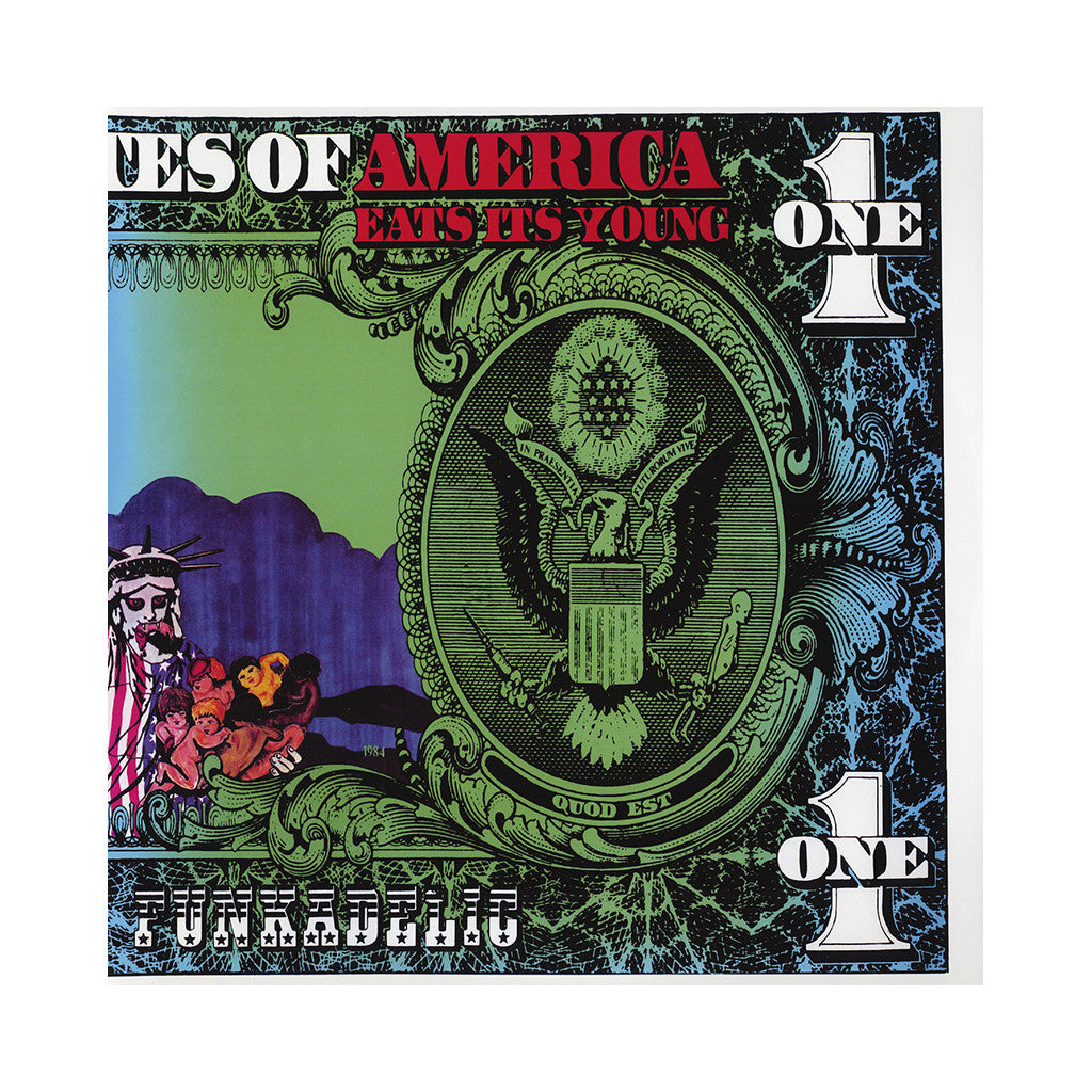 <!--020151016020646-->Funkadelic - 'America Eats Its Young' [(Opaque Turquoise + Translucent Purple) Vinyl [2LP]]