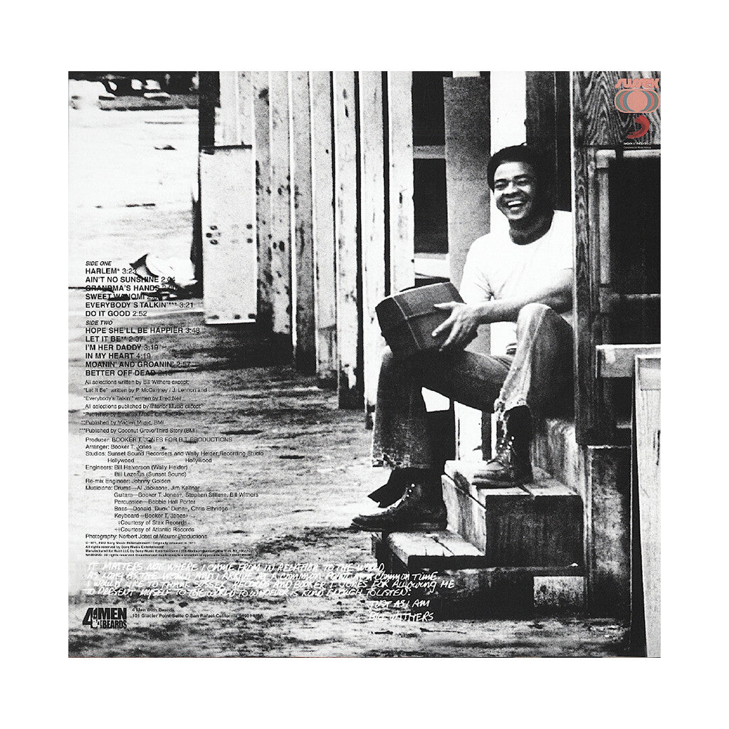Bill Withers - 'Just As I Am (Import)' [(Black) Vinyl LP]