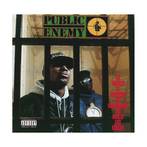 "[""Public Enemy - 'It Takes A Nation Of Millions To Hold Us Back' [CD]""]"