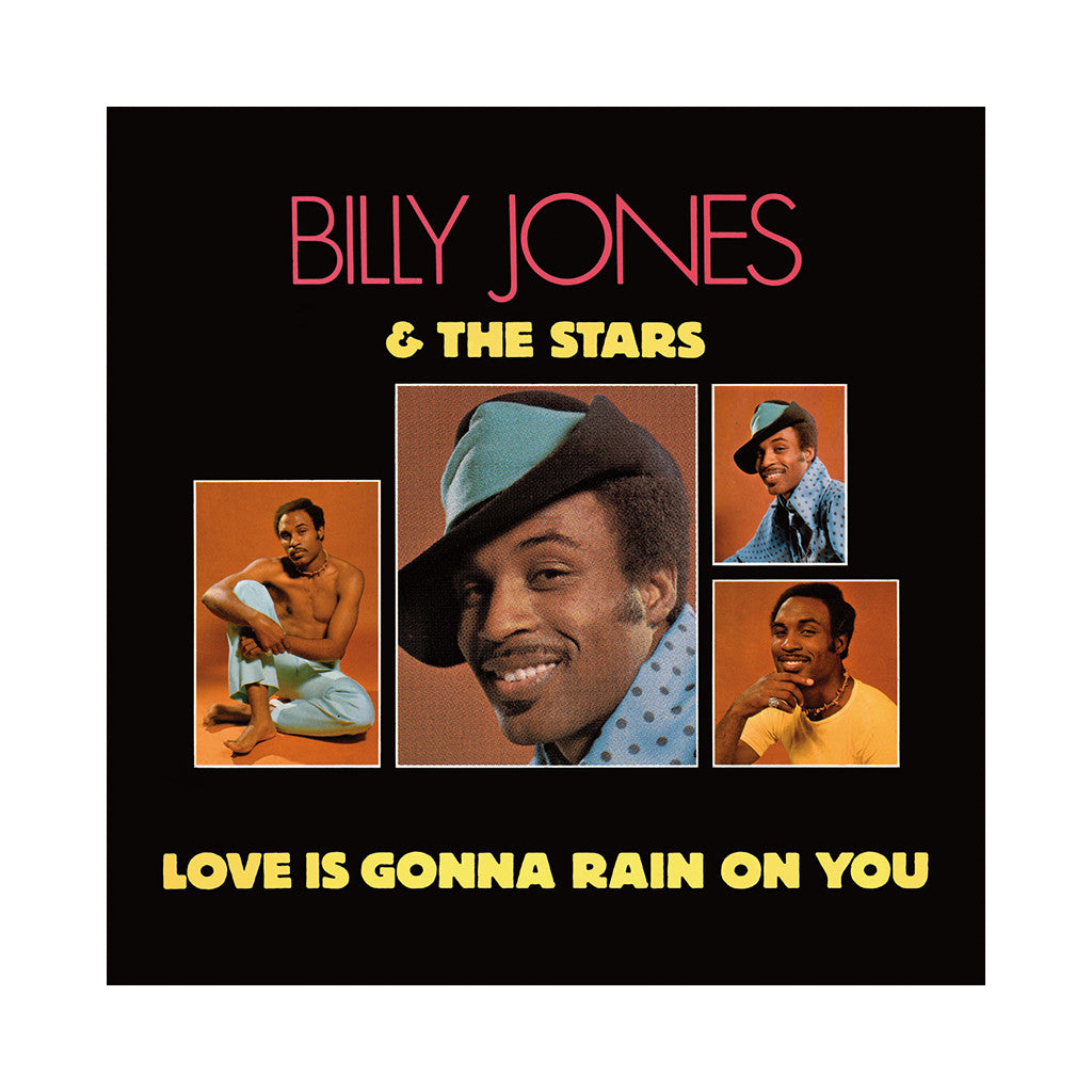 Billy Jones & The Stars - 'Love Is Gonna Rain On You' [CD]