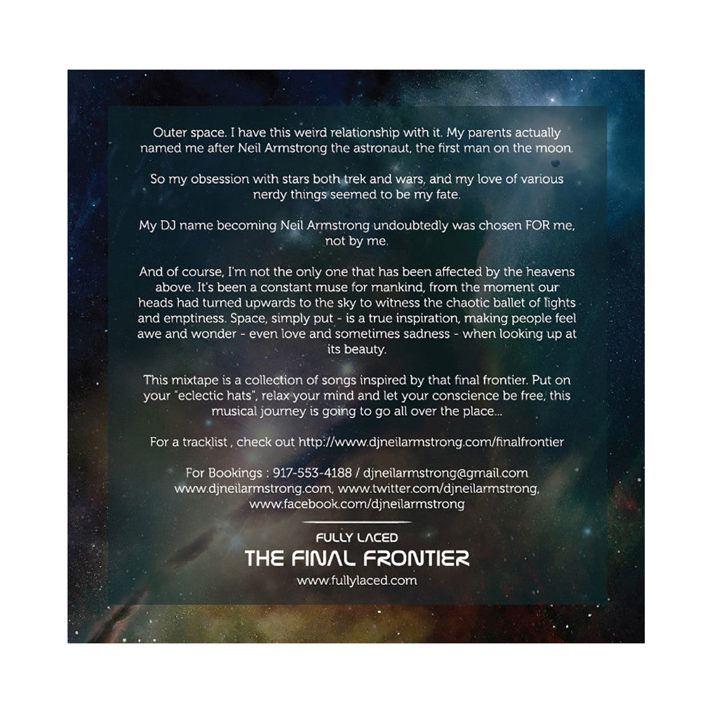 <!--020121113051854-->DJ Neil Armstrong x Full Laced - 'The Final Frontier' [CD]