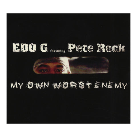 "[""EDO.G & Pete Rock - 'My Own Worst Enemy (12th Anniversary Edition)' [CD]""]"
