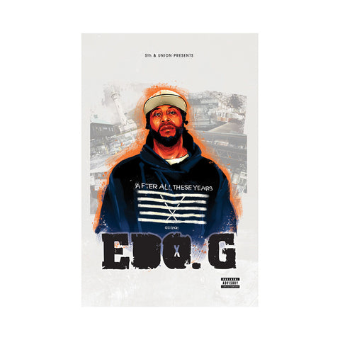 EDO.G - 'After All These Years' [(Orange) Cassette Tape]