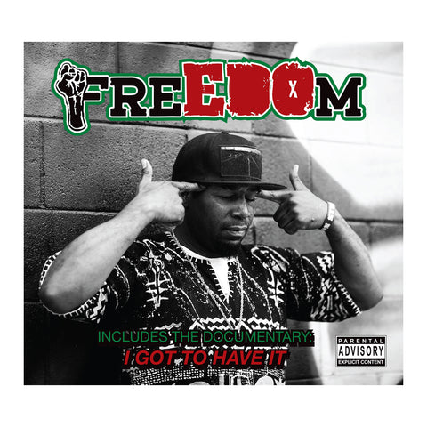 "[""EDO.G - 'FreEDOm' [(Black) Vinyl LP]""]"