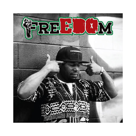 "[""EDO.G - 'FreEDOm' [(Transparent Green) Vinyl LP]""]"