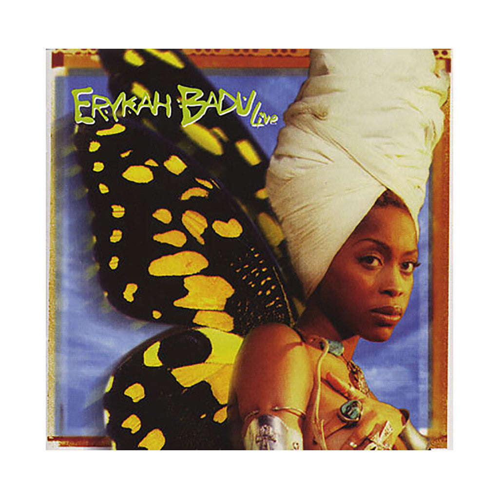 erykah badu live cd cover art release date album