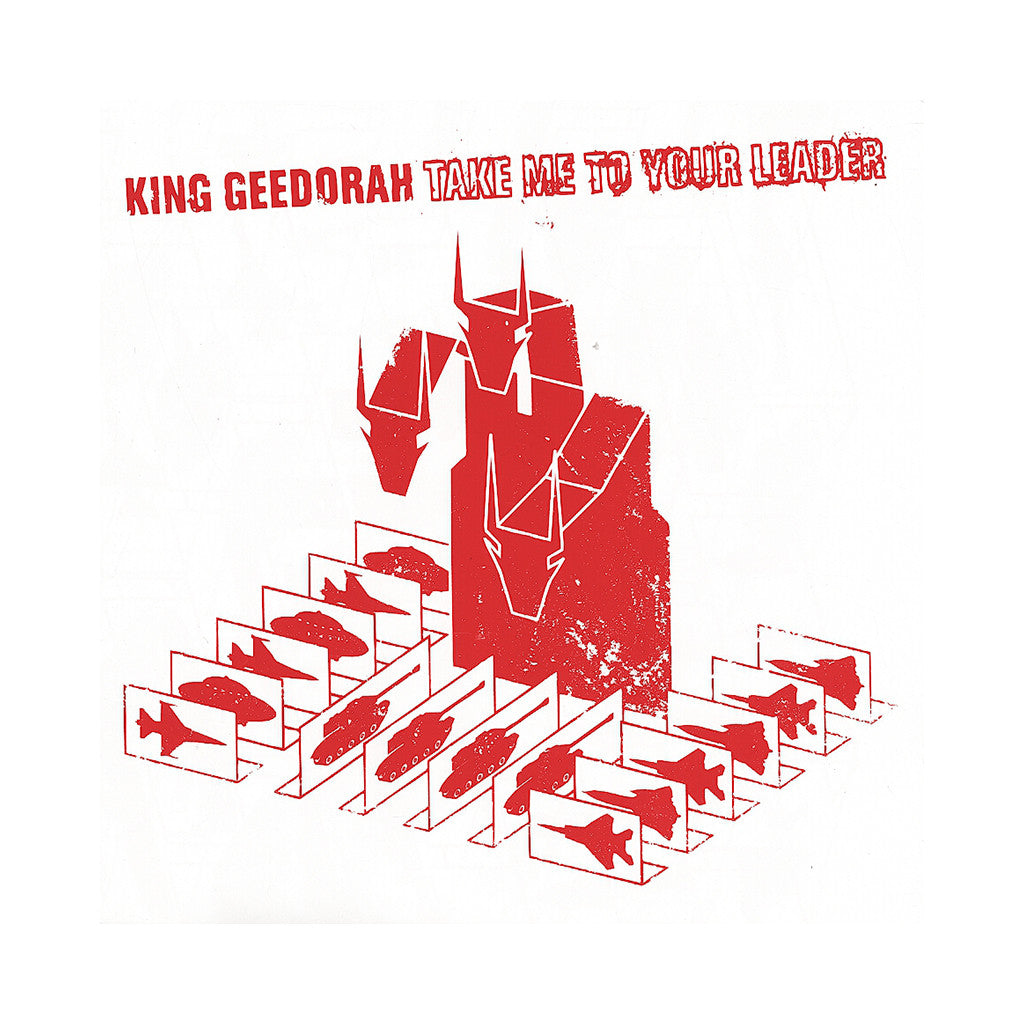 King Geedorah Take Me To Your Leader Cd Album Stream