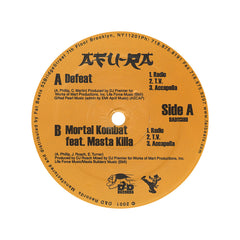 "<!--019990824004826-->Afu-Ra - 'Defeat/ Mortal Kombat' [(Black) 12"""" Vinyl Single]"