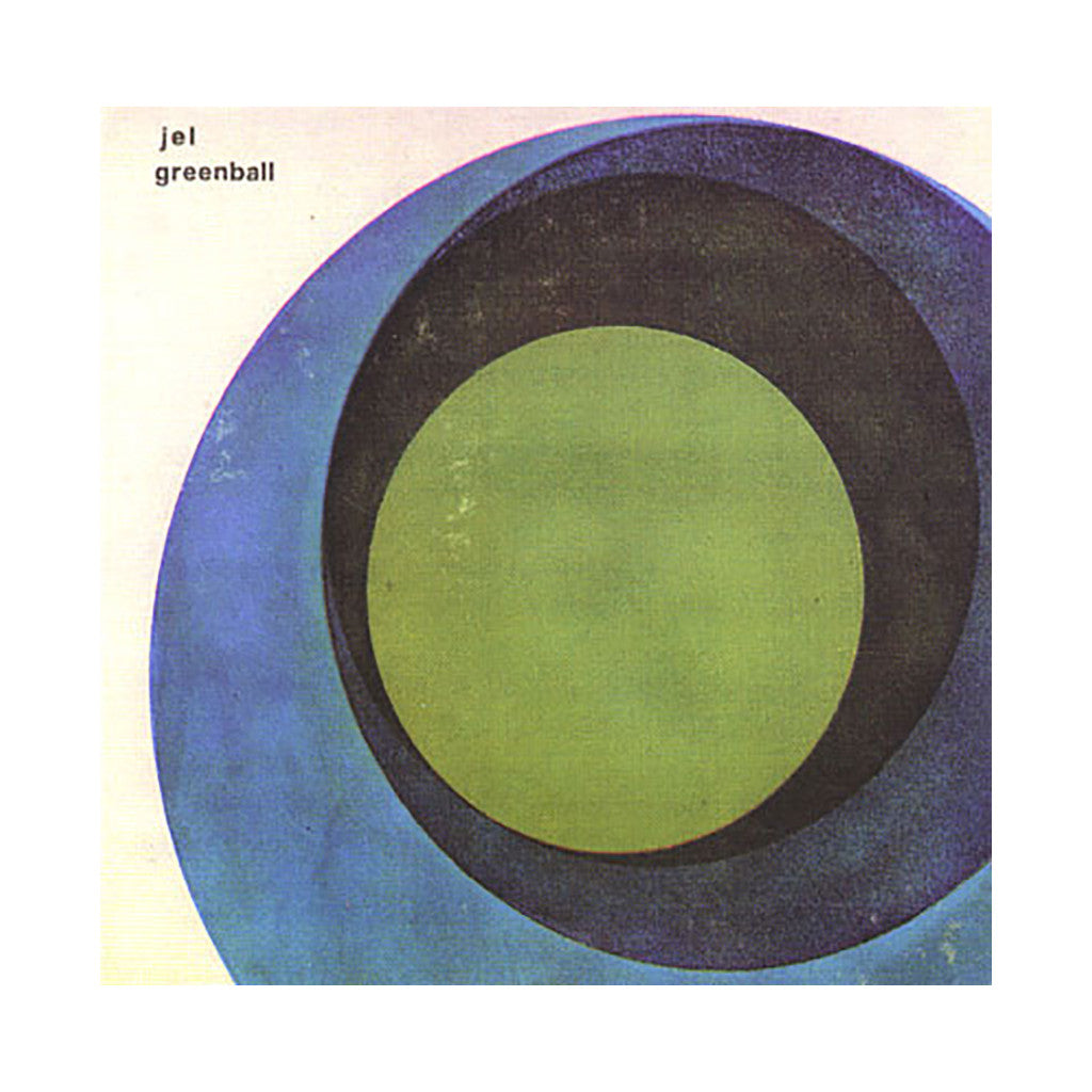 Jel - 'Greenball' [CD]