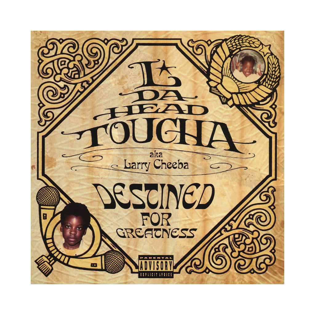 <!--020031125002543-->L Da Headtoucha - 'Destined For Greatness' [(Black) Vinyl [2LP]]