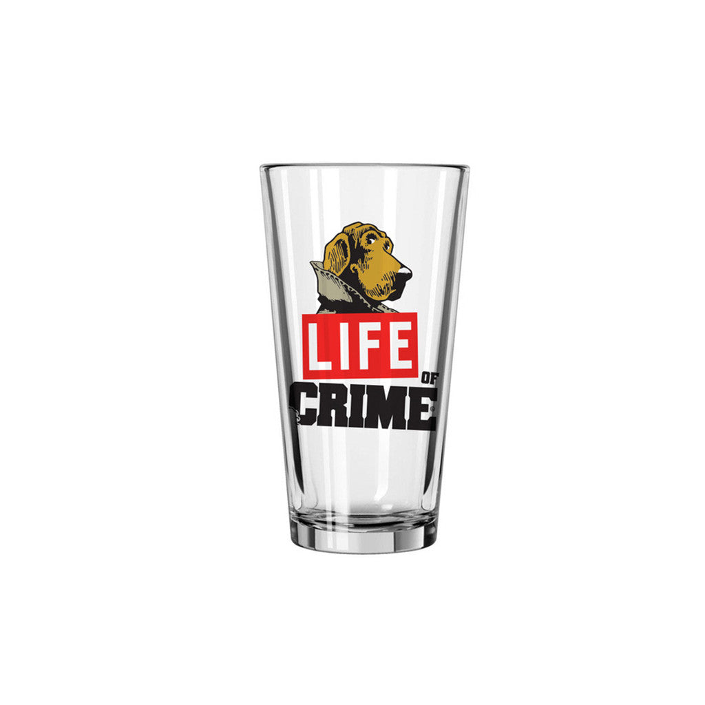 <!--020140702064430-->The Seventh Letter - 'Life Of Crime Pint' [Glassware]