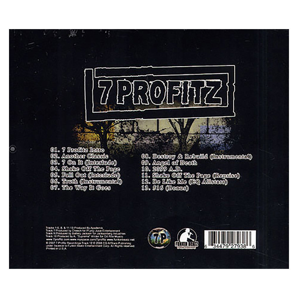 7 Profitz - 'The Resurrection LP' [CD]