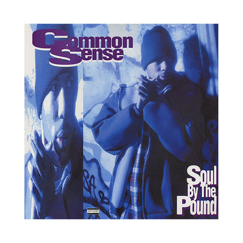 "Common Sense - 'Soul By The Pound (Remix)/ Soul By The Pound/ Can-I-Bust/ Heidi Hoe' [(Black) 12"""" Vinyl Single]"