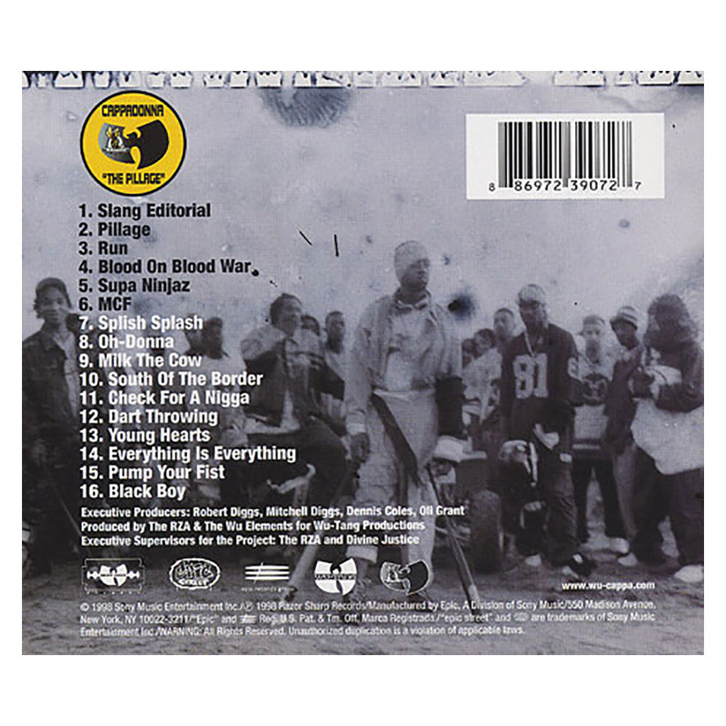 <!--119980324016646-->Cappadonna - 'The Pillage' [CD]