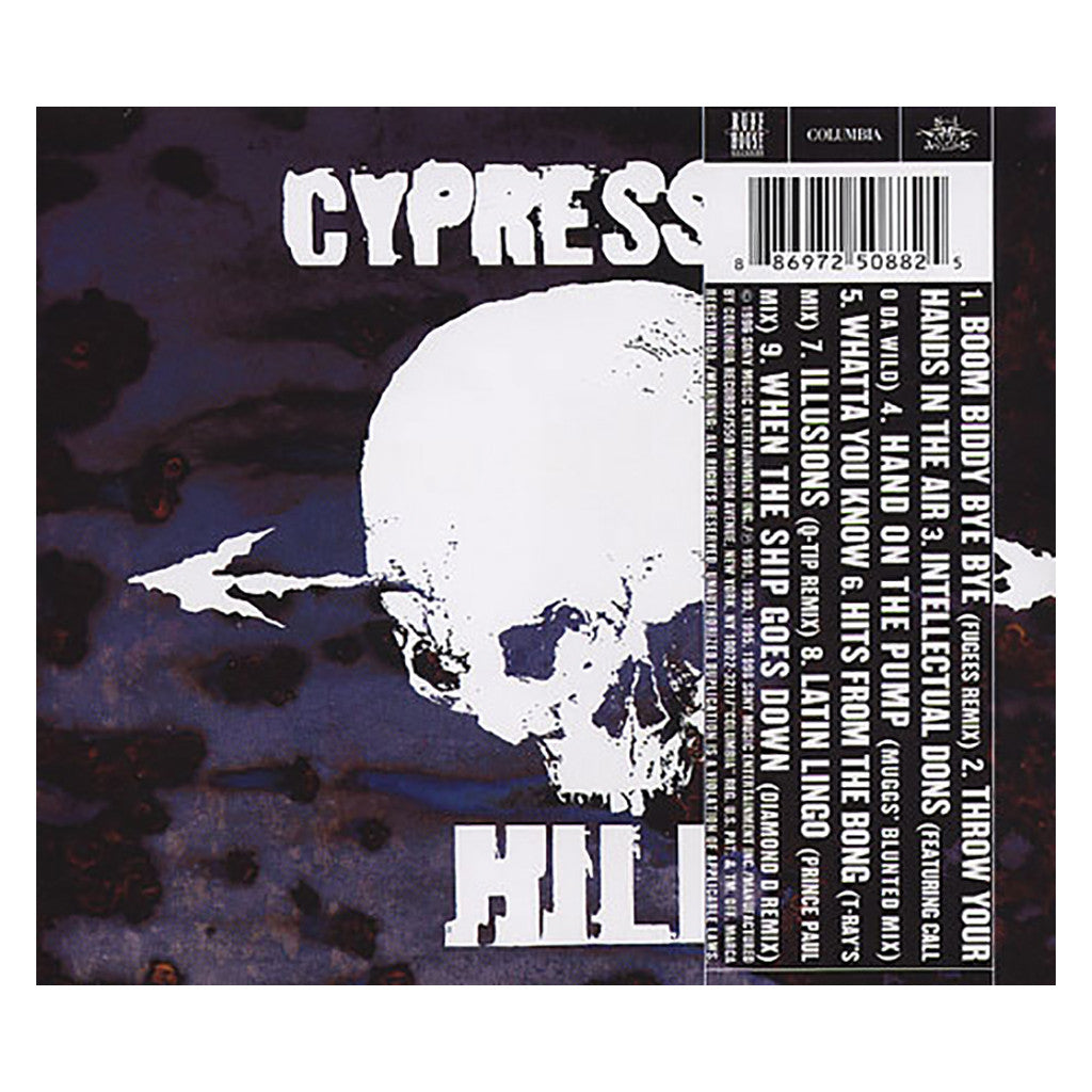 Cypress Hill - 'Unreleased & Revamped EP' [CD]