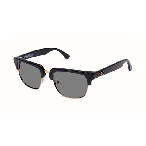 9five Eyewear - 'Belmont: Black & Gold' [(Black) Sunglasses & Eyewear]