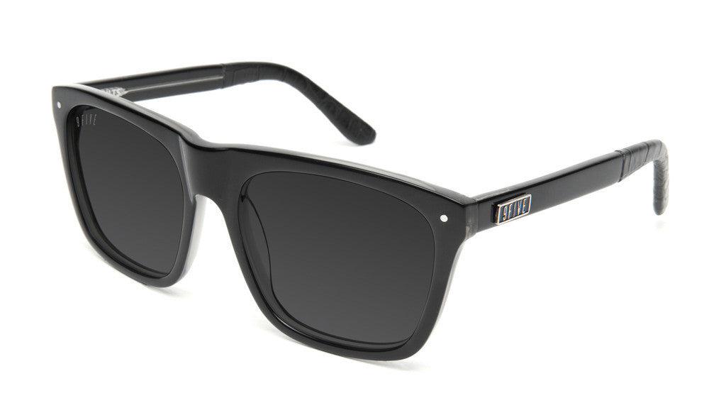 <!--020130416055941-->9five Eyewear - 'Cults: Black Croc' [(Black) Sunglasses & Eyewear]