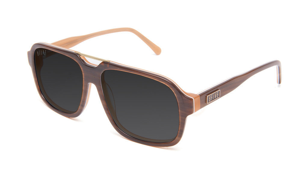 <!--2013041611-->9five Eyewear - 'Fronts: Woodgrain' [(Wood) Sunglasses & Eyewear]