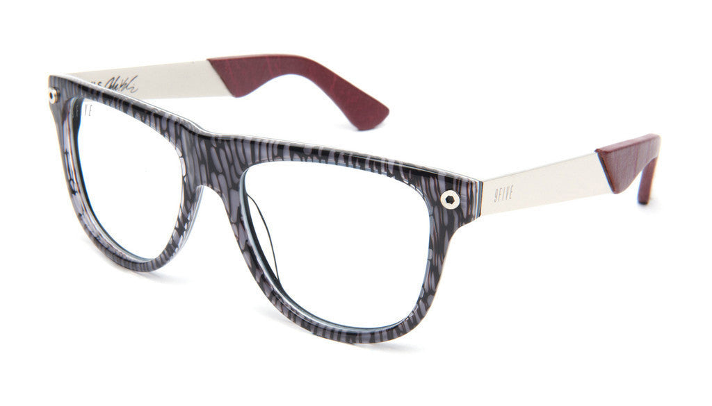 <!--020130416055928-->9five Eyewear x Josh Kalis - 'KLS II: Black Bark (CLEAR LENS)' [(Black) Sunglasses & Eyewear]