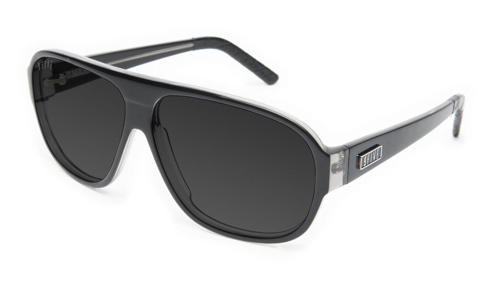 <!--020130416055936-->9five Eyewear - 'Majors: Black Croc' [(Black) Sunglasses & Eyewear]