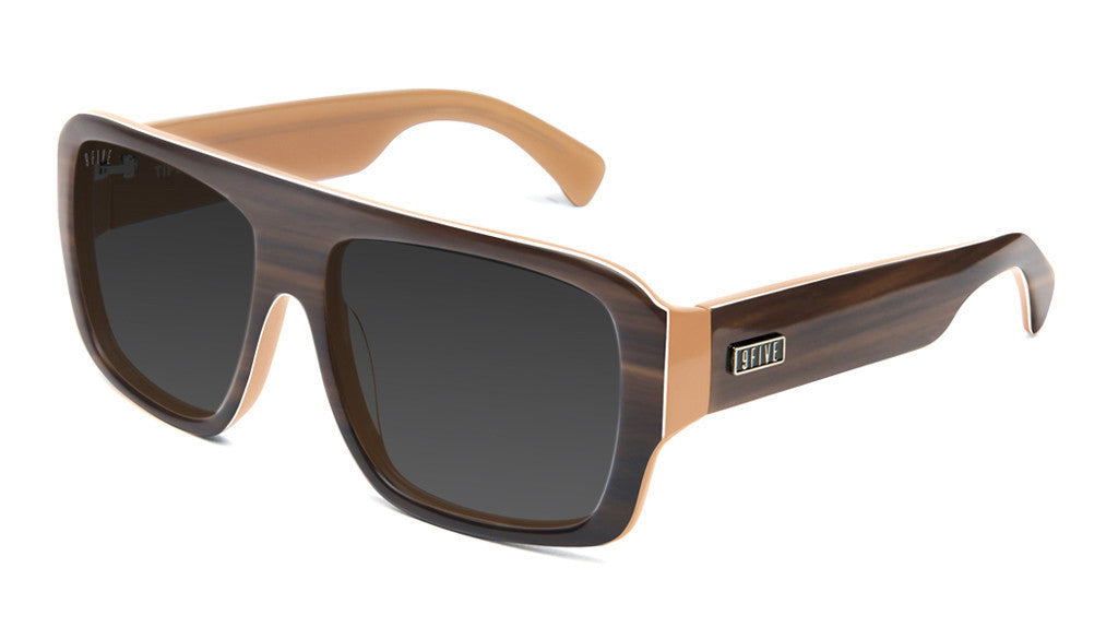 <!--2013041638-->9five Eyewear - 'Tips: Woodgrain' [(Wood) Sunglasses & Eyewear]