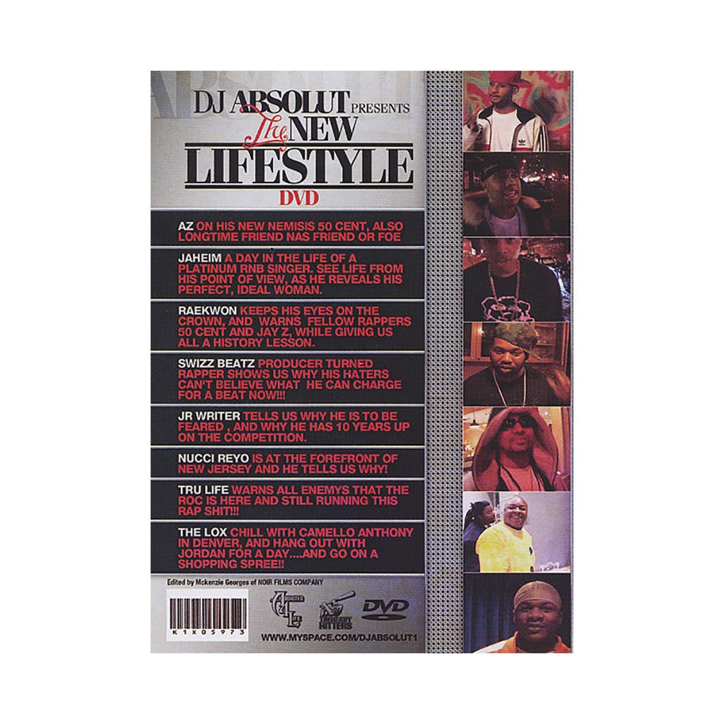 <!--020061226008959-->DJ Absolute - 'The New Lifestyle' [DVD]