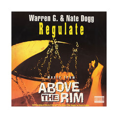 "Warren G & Nate Dogg b/w 2Pac, Treach, Riddler - 'Regulate (Jamming Mix)/ Regulate b/w Pain/ Loyal To The Game' [(Black) 12"" Vinyl Single]"