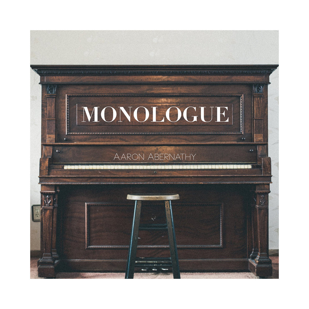 Aaron Abernathy - 'Monologue' [(Black) Vinyl [2LP]]