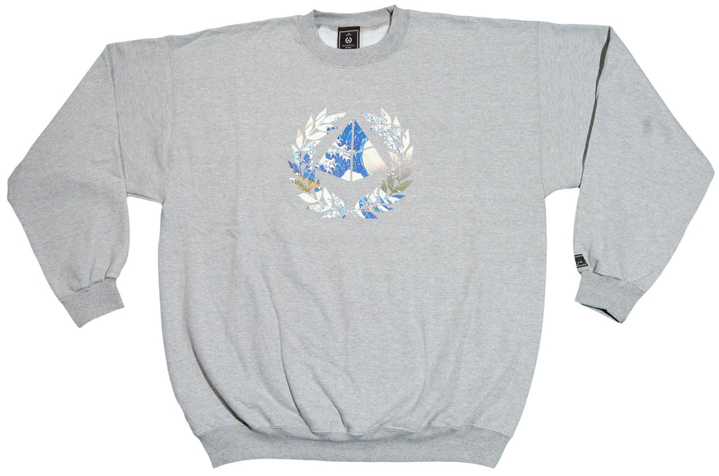 <!--2012092521-->Acropolis - 'The Great Wave' [(Gray) Crewneck Sweatshirt]