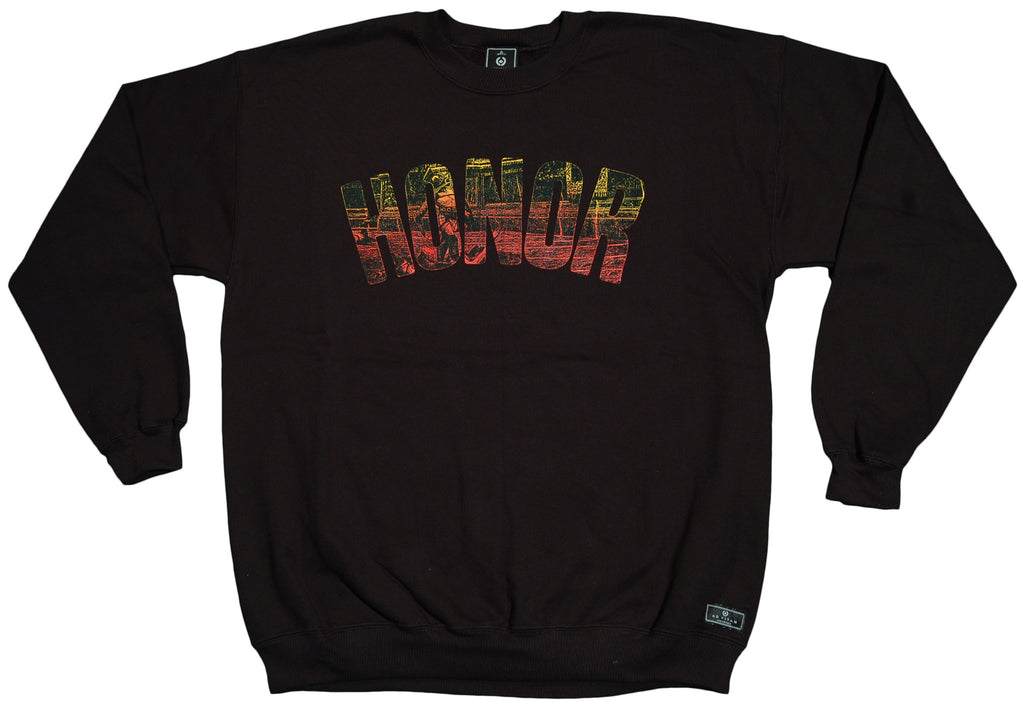 <!--2012092526-->Acropolis - 'Honor' [(Black) Crewneck Sweatshirt]