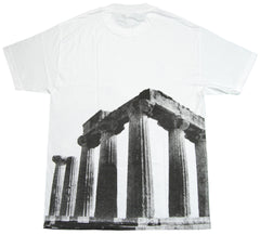 <!--2012092559-->Acropolis - 'Pillars' [(White) T-Shirt]
