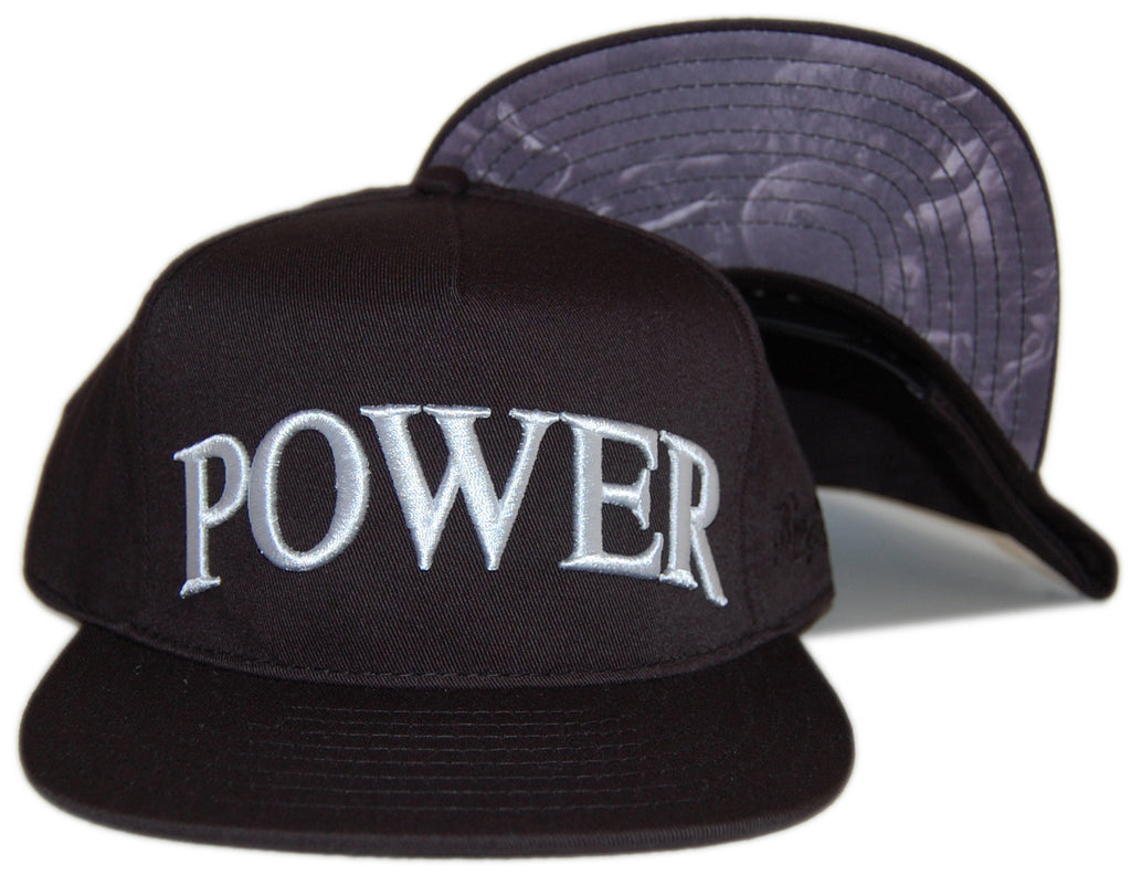 <!--020120925049778-->Acropolis - 'Power' [(Black) Snap Back Hat]