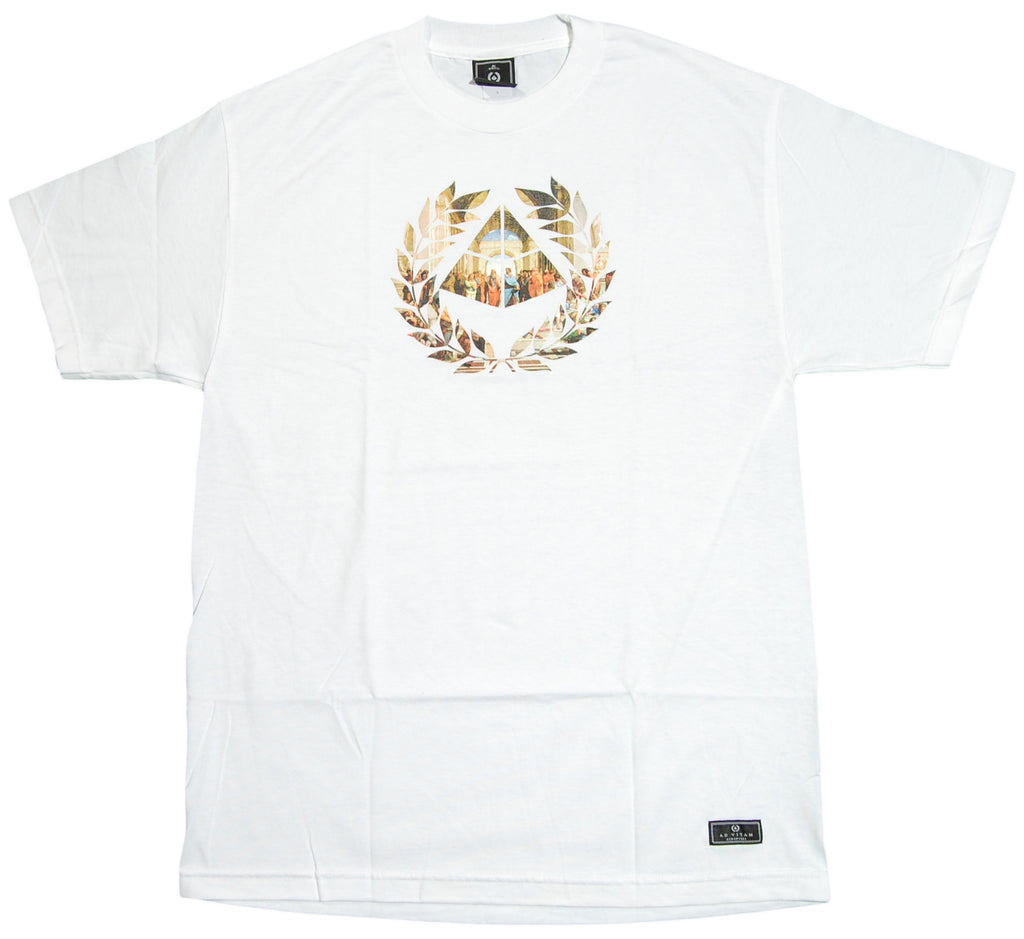 <!--2012092551-->Acropolis - 'School Of Athens' [(White) T-Shirt]