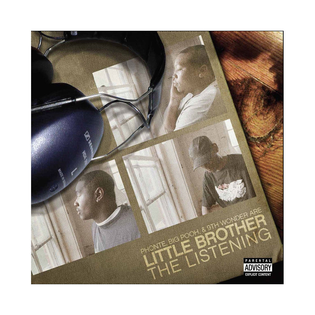 Little Brother - 'The Listening (THIS IS A RE-STOCK)' [(White) Vinyl [2LP]]