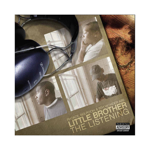 "[""Little Brother - 'The Listening (THIS IS A RE-STOCK)' [(White) Vinyl [2LP]]""]"
