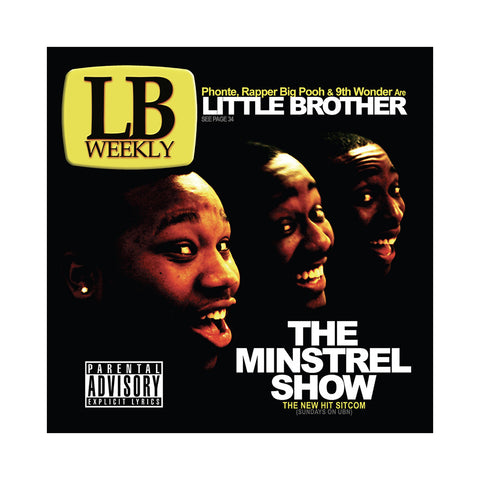 "[""Little Brother - 'The Minstrel Show (THIS IS A RE-STOCK)' [(Gold) Vinyl [2LP]]""]"